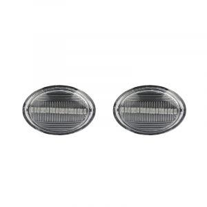 Viano Vito e Fortwo LuxLight Frecce laterali a LED con lente chiara peClasse Re A